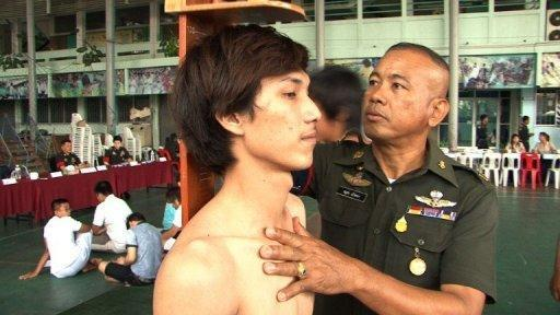 Many Thai men dread turning 21 because it might mean they have to do military service. The army fills its quotas using an unusual lottery system.