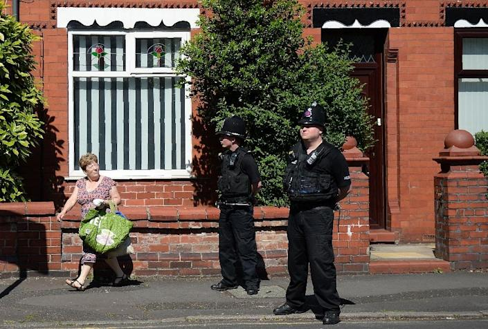 Police presence has been significantly boosted in Britain (AFP Photo/Oli SCARFF )