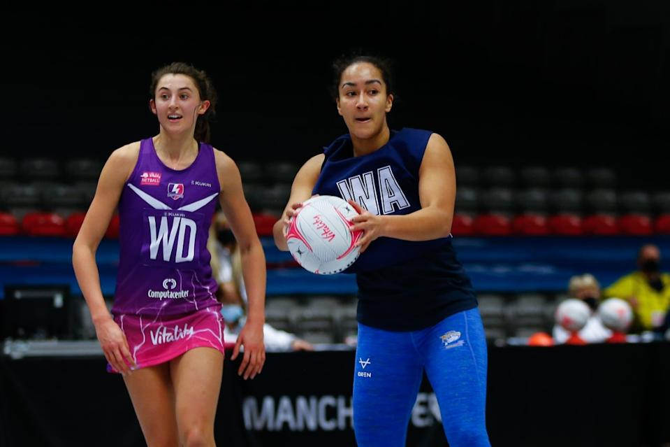 Brie Grierson's Leeds Rhinos will be itching to claim their second win of the season against Surrey Storm in Round 3 © Steve Gaunt, Touchline Pics