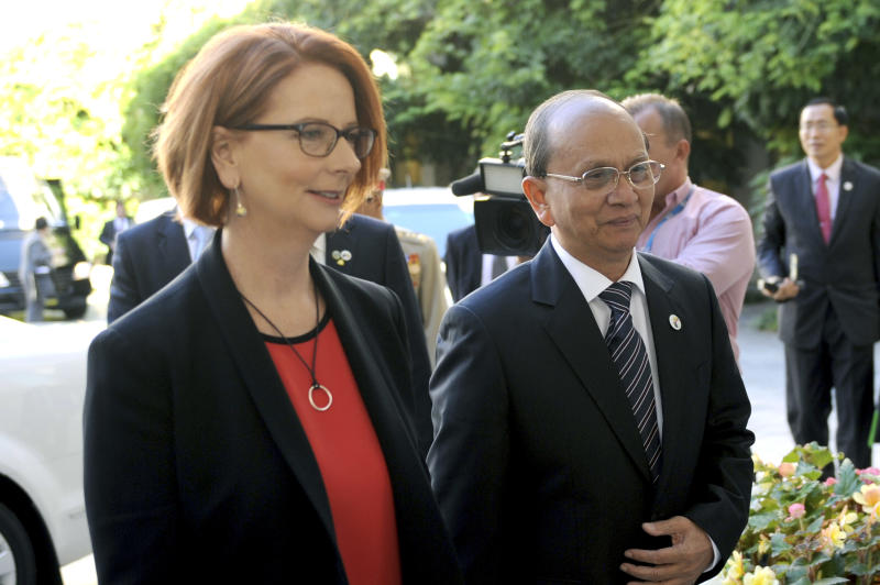 Myanmar president welcomes closer Australia ties