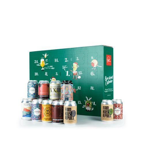 """<p>£79.99</p><p><a class=""""link rapid-noclick-resp"""" href=""""https://www.virginwines.co.uk/beer-advent-calendar"""" rel=""""nofollow noopener"""" target=""""_blank"""" data-ylk=""""slk:RESERVE NOW"""">RESERVE NOW</a></p><p>You're probably getting the gist by now...This beer advent calendar contains 24 cans of beer, hand-picked from top-rated breweries across the UK. Each one is exclusive to Virgin Wines, and there's a good mix of IPAs, lagers, and pale ales. </p><p>Reserve yours for a tenner now, and it'll be delivered nearer the day. <br></p>"""