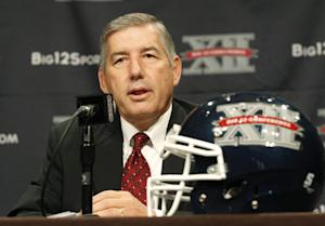 Big 12 commissioner Bob Bowlsby stirred the pot with his July comments declaring that 'cheating pays.' (AP)