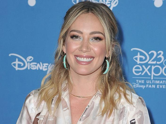 Hilary Duff in August 2019.
