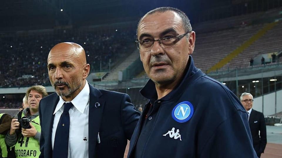 Spalletti e Sarri | Francesco Pecoraro/Getty Images