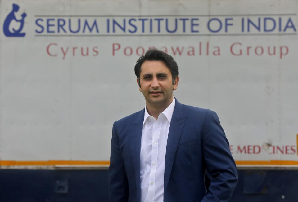 Adar Poonawalla, chief executive officer (CEO) of the Serum Institute of India. Photo: Francis Mascarenhas