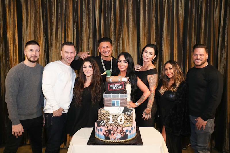 The cast of Jersey Shore: Family Vacation   Bennett Raglin/Getty Images for MTV
