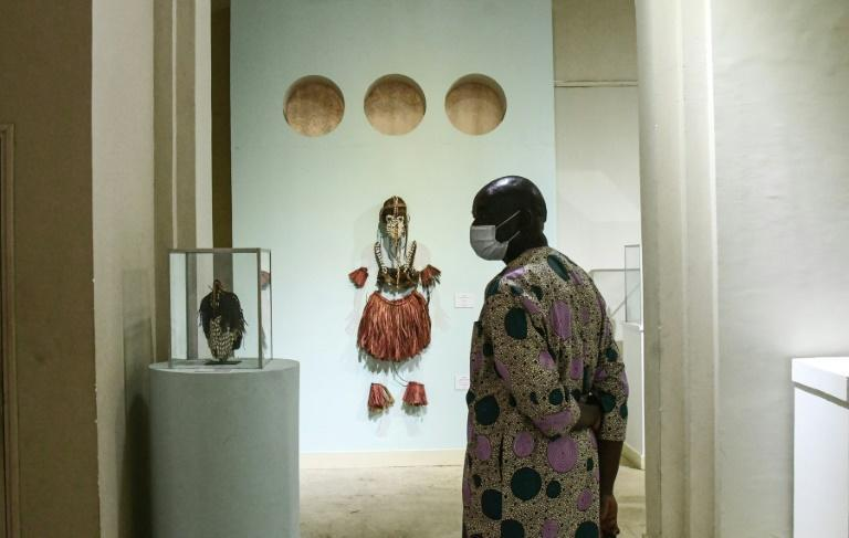 """The museum's curator says its collection of over 9,000 works is """"unparallelled in Africa"""""""