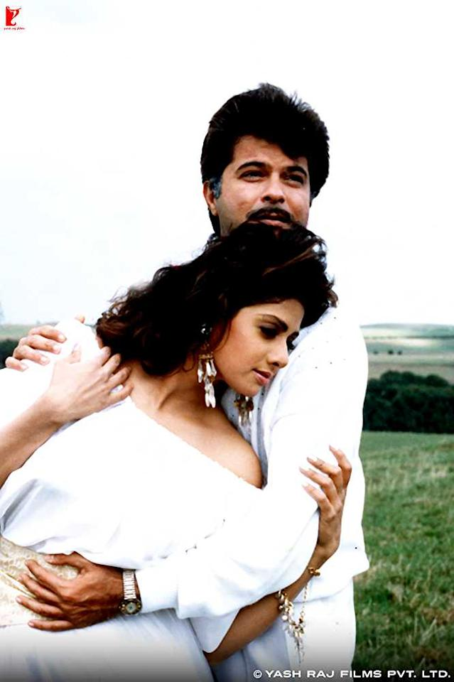 <p>The rumour in Bollywood was that Sridevi and Boney Kapoor began seeing each other from the time he produced the now-iconic Mr. India, which had Anil Kapoor, Boney's brother, in the lead. By the 90s, Sridevi and Anil Kapoor were a big hit pair onscreen, and by that time, Sridevi and Boney Kapoor had also become a hit pair off it. Anil and Sridevi did around 10 films together, the last one as a pair being Judaai in 1997, a good one year after Boney had officially tied the knot with her. </p>