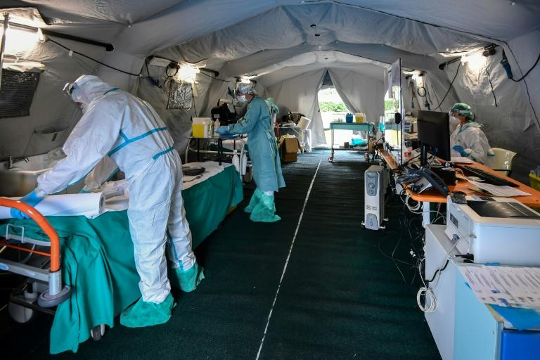 Many Italian healthcare workers who have expressed their concern at the toll that the outbreak is taking, on facilities and personnel alike