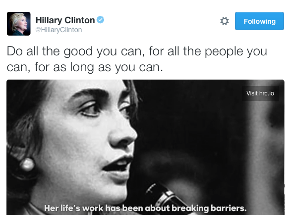 do all the good the methodist saying that became a clinton
