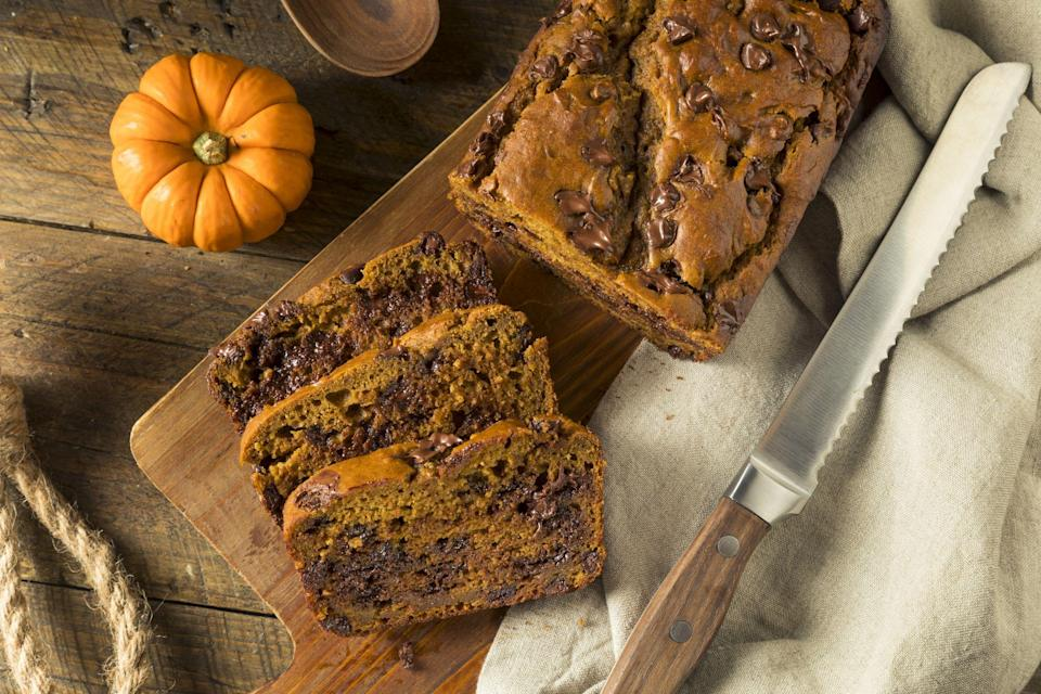 """<p>These <a href=""""https://www.countryliving.com/food-drinks/g620/pumpkin-dessert-recipes/"""" rel=""""nofollow noopener"""" target=""""_blank"""" data-ylk=""""slk:pumpkin desserts"""" class=""""link rapid-noclick-resp"""">pumpkin desserts</a> aren't the only <a href=""""https://www.countryliving.com/food-drinks/g619/our-best-pumpkin-recipes-1008/"""" rel=""""nofollow noopener"""" target=""""_blank"""" data-ylk=""""slk:pumpkin recipes"""" class=""""link rapid-noclick-resp"""">pumpkin recipes</a> you can make this autumn, though they're pretty tasty. To continue to satisfy your sweet tooth, make sure you bake some <a href=""""https://www.countryliving.com/food-drinks/g4533/pumpkin-cookies/"""" rel=""""nofollow noopener"""" target=""""_blank"""" data-ylk=""""slk:pumpkin cookies"""" class=""""link rapid-noclick-resp"""">pumpkin cookies</a> or a <a href=""""https://www.countryliving.com/food-drinks/g974/pumpkin-pie-recipes/"""" rel=""""nofollow noopener"""" target=""""_blank"""" data-ylk=""""slk:pumpkin pie"""" class=""""link rapid-noclick-resp"""">pumpkin pie</a>. Or maybe a fresh batch of <a href=""""https://www.countryliving.com/food-drinks/g3575/pumpkin-bars/"""" rel=""""nofollow noopener"""" target=""""_blank"""" data-ylk=""""slk:pumpkin bars"""" class=""""link rapid-noclick-resp"""">pumpkin bars</a>, <a href=""""https://www.countryliving.com/food-drinks/g3559/pumpkin-muffins/"""" rel=""""nofollow noopener"""" target=""""_blank"""" data-ylk=""""slk:pumpkin muffins"""" class=""""link rapid-noclick-resp"""">pumpkin muffins</a>, or <a href=""""https://www.countryliving.com/food-drinks/g4579/pumpkin-scones/"""" rel=""""nofollow noopener"""" target=""""_blank"""" data-ylk=""""slk:pumpkin scones"""" class=""""link rapid-noclick-resp"""">pumpkin scones</a> is calling your name.</p>"""