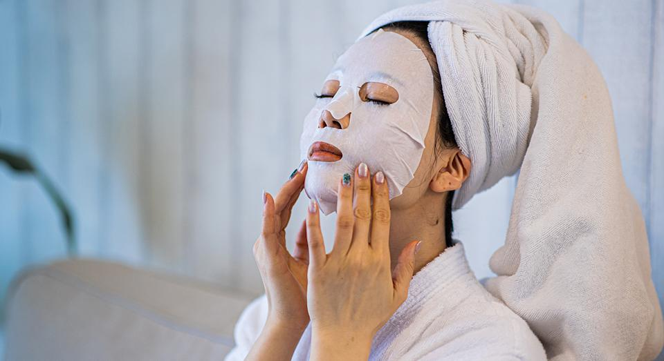 Treat yourself to a pamper with this top-rated Lancome face mask.  (Getty Images)