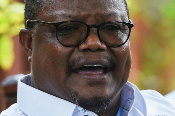 """Tundu Lissu garnered only 13 percent of the vote, a result which cannot be contested in court, and said the only option available was """"to take this to the people"""""""