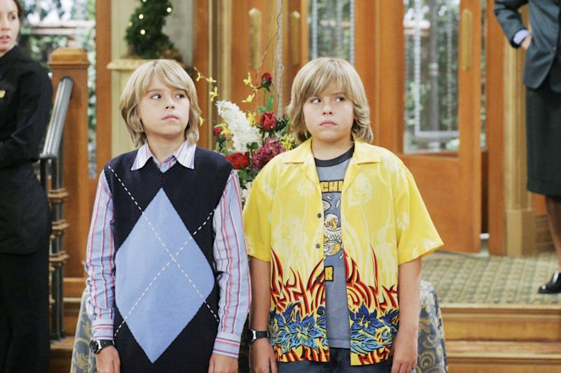 THE SUITE LIFE OF ZACK AND CODY, Cole Sprouse, Dylan Sprouse, (Season 1), 2005-08, Disney Channel / Courtesy: Everett Collection