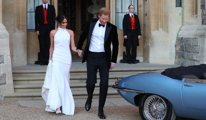 Prince Harry and Meghan Markle duke and duchess of Sussex moving out of Kensington Palace.