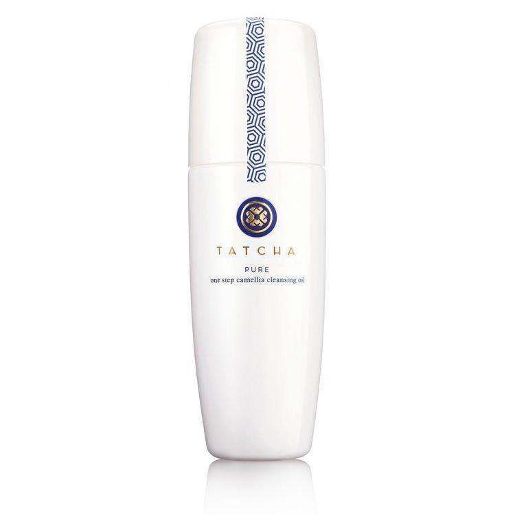 """This cleansing oil makes taking off my makeup super-easy. It melts off even the most stubborn of waterproof mascara with one pump, rinses easily, and doesn't leave a layer of residue on my skin afterward. <em>—Khaliha Hawkins, producer</em> $48, Tatcha. <a href=""""https://www.tatcha.com/product/PC-OIL.html"""" rel=""""nofollow noopener"""" target=""""_blank"""" data-ylk=""""slk:Get it now!"""" class=""""link rapid-noclick-resp"""">Get it now!</a>"""