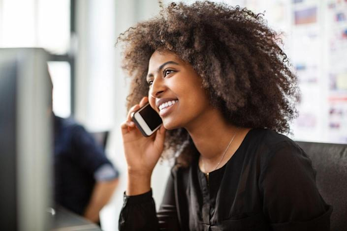 <p>If you have a friend or family member who has served our country, give them a phone call to say thanks. They'll be happy to hear from you, and a phone call goes a little bit further than a text message or email. </p>