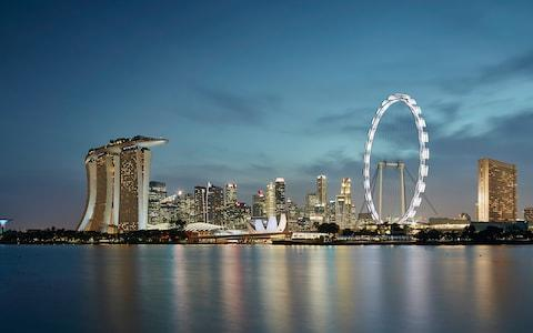 singapore flyer - Credit: MARTIN PUDDY