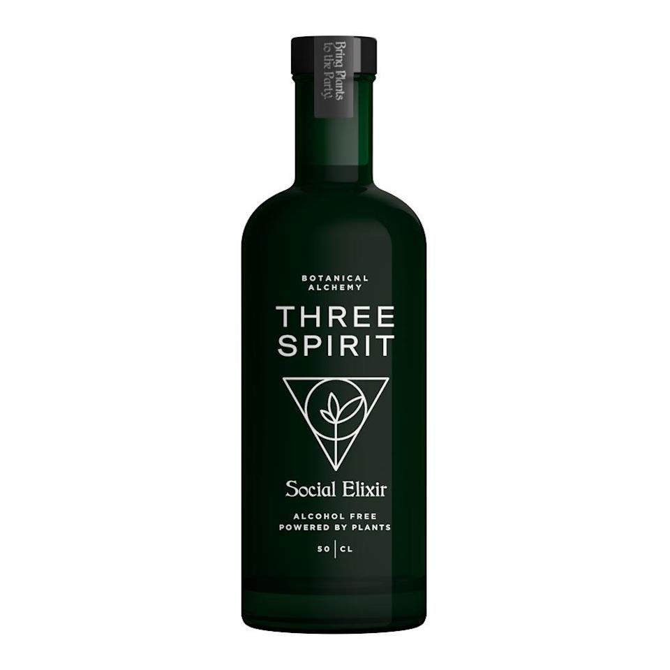 """<p>Forget gold, frankincense and myrrh — if you, like the Three Wise Men, are looking for the perfect gifts to give this holiday season, look no further than Three Spirit's elixirs. Featuring botanicals meant to enhance every aspect of the evening, each spirit — Livener, Social Elixir and Nightcap — offers its own herbaceous, unique flavor. </p> <p><strong>Buy It!</strong> $37.99, <a href=""""https://drinknolow.com/collections/shop-all-products/products/social-elixir-by-three-spirit"""" rel=""""nofollow noopener"""" target=""""_blank"""" data-ylk=""""slk:drinknolow.com"""" class=""""link rapid-noclick-resp"""">drinknolow.com</a></p>"""