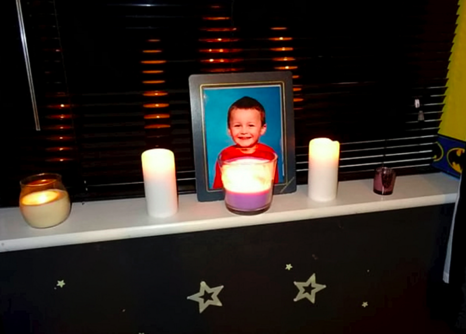 """<em>Coby's family say they are living every parent's worst nightmare and have paid tribute to their """"perfect"""" boy (SWNS)</em>"""