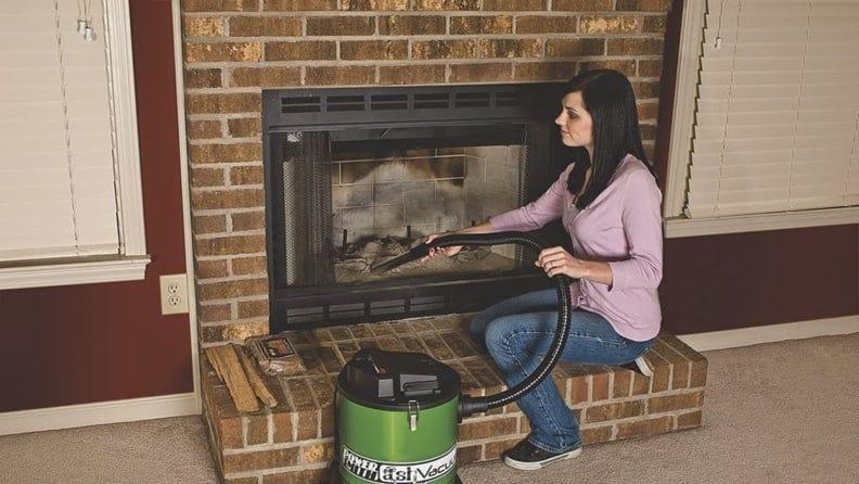 Vacuums like the PowerSmith PAVC101 10 Amp Ash are specifically designed to store away warm or cool ash in a heat-resistant storage container.