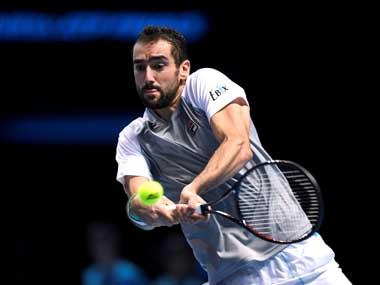 Marin Cilic pulls out of defending champions Croatia's Davis Cup match against Russia due to knee injury