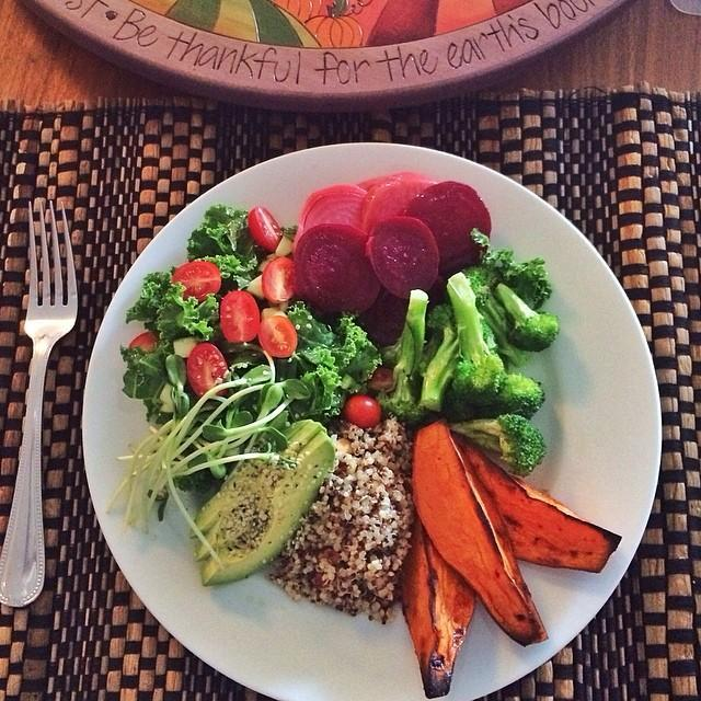 """<p>When you think of comfort food, fried chicken or chili might come to mind, but for Gisele and Tom, comfort food is quinoa, brown rice, and other whole grains.</p><p> """"I'm all about serving meals in bowls. I just did this quinoa dish with wilted greens. I use kale or Swiss chard or beet greens. I add garlic, toasted in coconut oil. And then some toasted almonds, or this cashew sauce with lime curry, lemongrass, and a little bit of ginger. That's just comfort food for them,"""" Campell said.</p><p>He's also served them raw lasagna. We're not sure what exactly that entails, but we'd like to see the recipe.</p><p><a rel=""""nofollow noopener"""" href=""""https://instagram.com/p/mxr4PIntBE"""" target=""""_blank"""" data-ylk=""""slk:See the original post on Instagram"""" class=""""link rapid-noclick-resp"""">See the original post on Instagram</a></p>"""