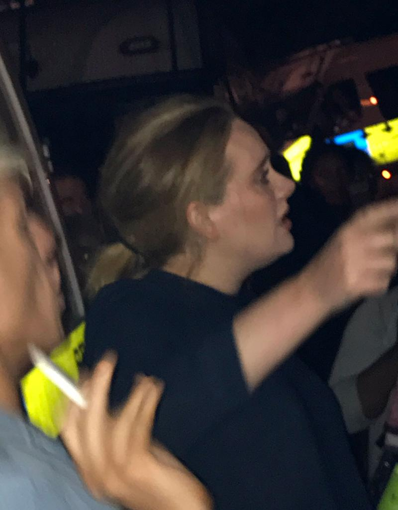 Adele Makes Emotional Visit to London's Grenfell Tower Following Fire That Killed 12