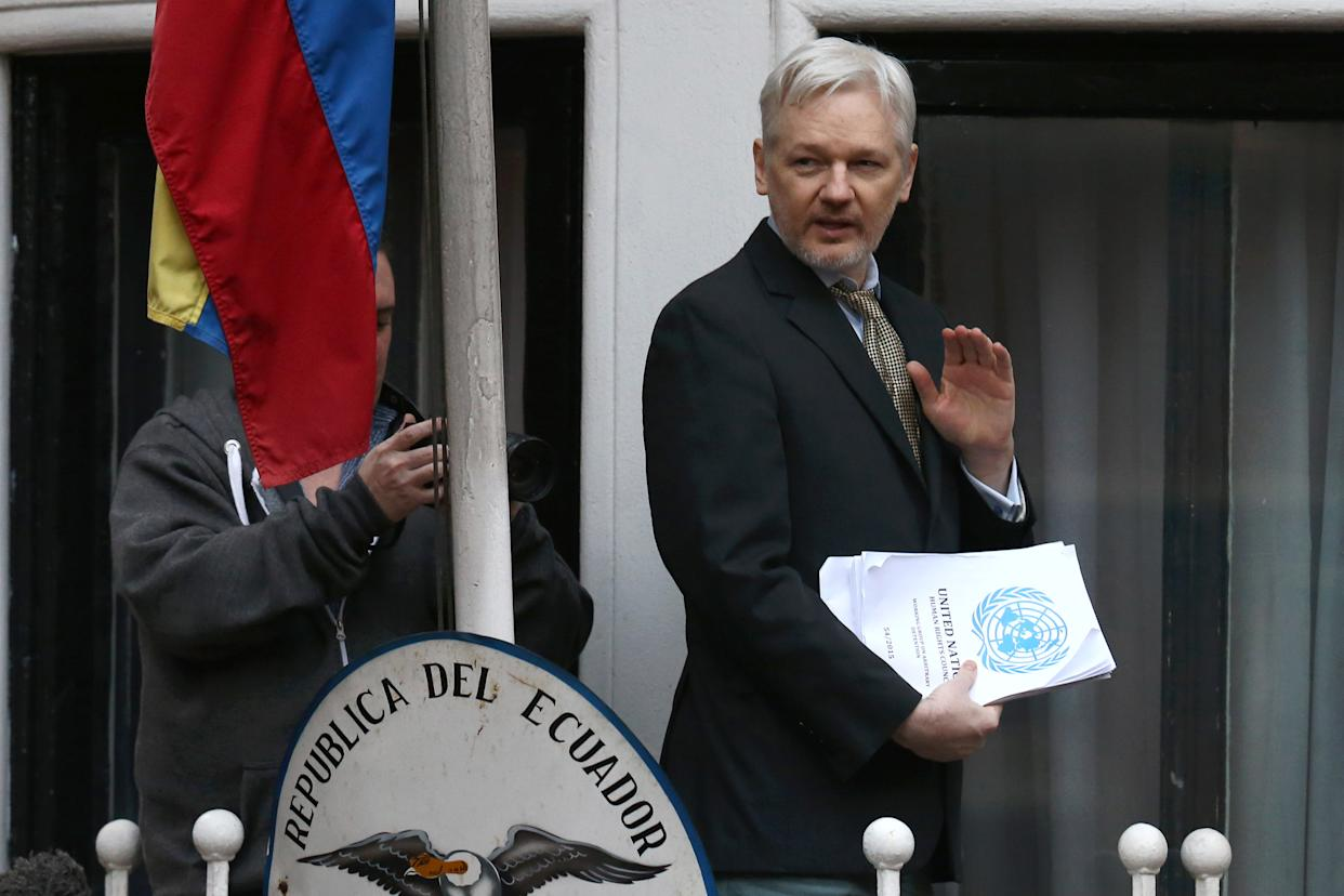 WikiLeaks founder Julian Assange. (Photo: Carl Court/Getty Images)
