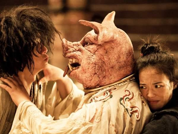 Stephen Chow beats Bruce Willis