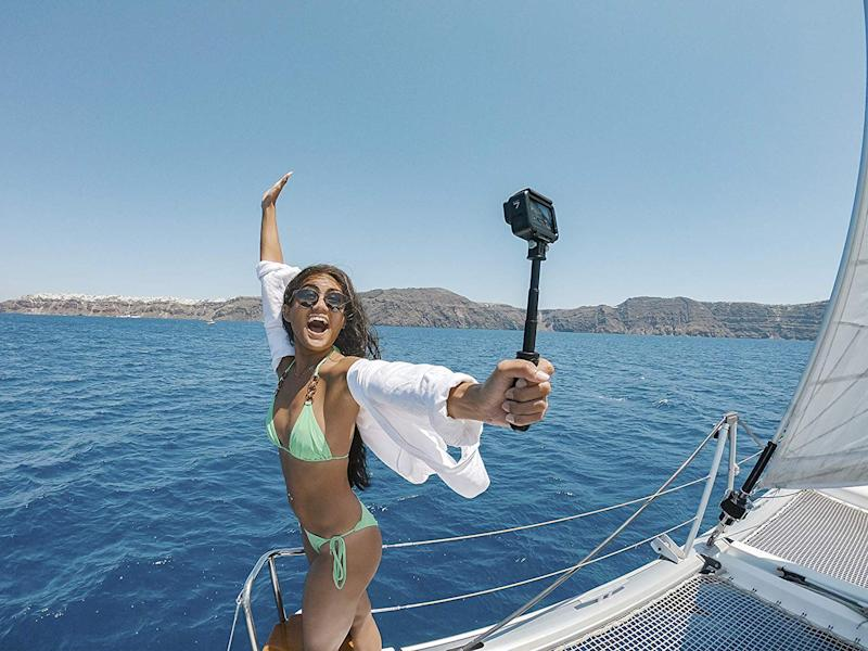 Don't leave on your next vacation until you pick up a GoPro. (Photo: Amazon)