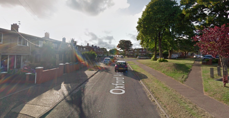 The body of a man and woman were discovered inside a property on Oxford Avenue in Gorleston. (Google)