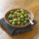 """<p>No, sprouts are not just for roast dinners. You can make a cracking side dish by jazzing them up with a bit of pancetta and another autumnal ingredient – chestnuts – like domestic goddess Nigella does in <a href=""""https://www.nigella.com/recipes/brussels-sprouts-with-chestnuts-pancetta-and-parsley"""" rel=""""nofollow noopener"""" target=""""_blank"""" data-ylk=""""slk:this recipe"""" class=""""link rapid-noclick-resp"""">this recipe</a> [Photo: Getty]. </p>"""