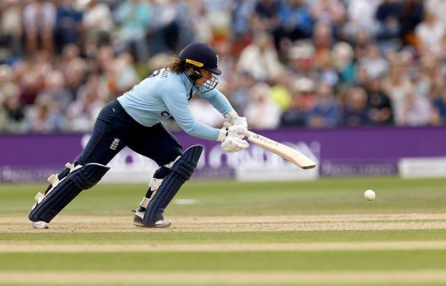 Tammy Beaumont starred for England