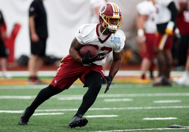 Samaje Perine has a shot at a significant role in his first season. (Getty Images)