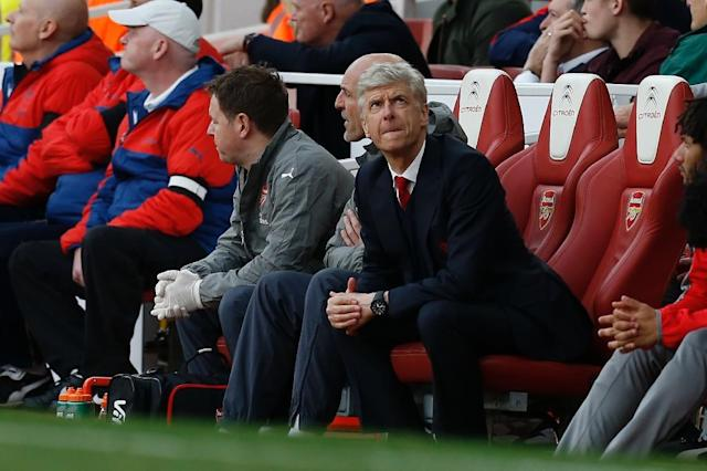 Arsenal's manager Arsene Wenger at The Emirates in London, on April 2, 2017 (AFP Photo/Ian KINGTON)