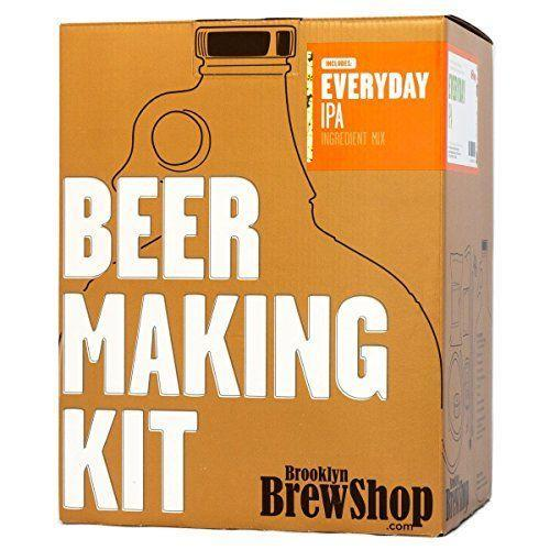 """<p><strong>Brooklyn Brew Shop</strong></p><p>amazon.com</p><p><strong>$49.95</strong></p><p><a href=""""https://www.amazon.com/dp/B005G20IIG?tag=syn-yahoo-20&ascsubtag=%5Bartid%7C1782.g.33322207%5Bsrc%7Cyahoo-us"""" rel=""""nofollow noopener"""" target=""""_blank"""" data-ylk=""""slk:BUY NOW"""" class=""""link rapid-noclick-resp"""">BUY NOW</a></p><p>Some people just know exactly what they like—and that's something very hoppy. This kit uses all-grain ingredients (how Brooklyn, right?), and though it requires a bit more work on your end, it makes wonderful small batches.</p>"""
