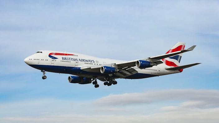 British Airways is among many airlines that have seen passenger numbers shrink and bookings collapse