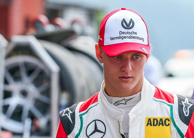 Mick Schumacher, Michael's son.
