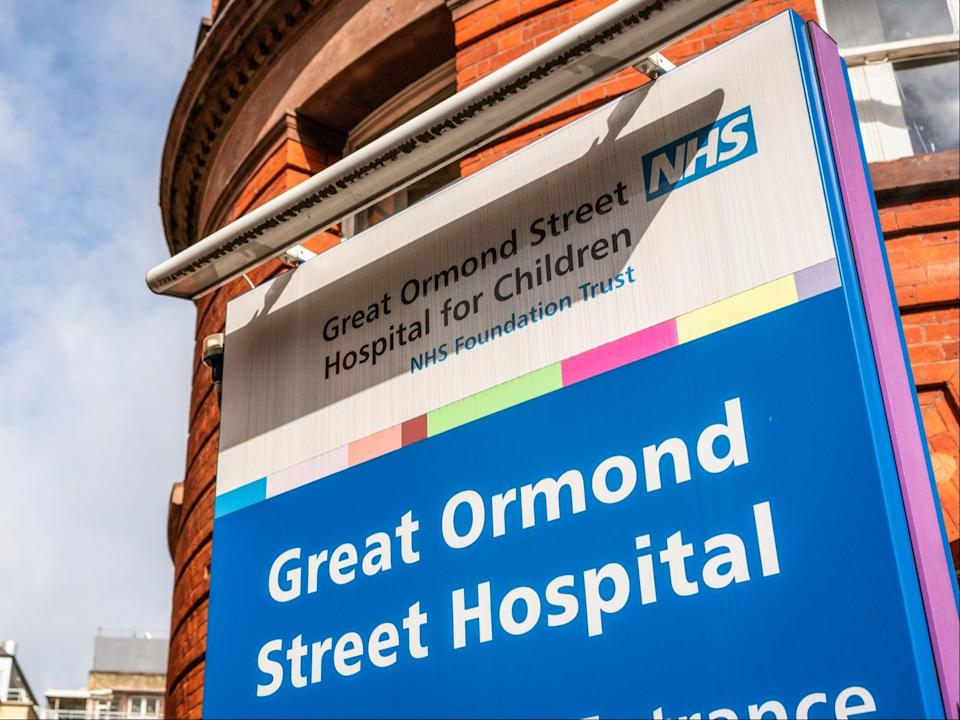 <p>Jasmine Hughes died at Great Ormond Street Hospital in 2011</p> (Getty)