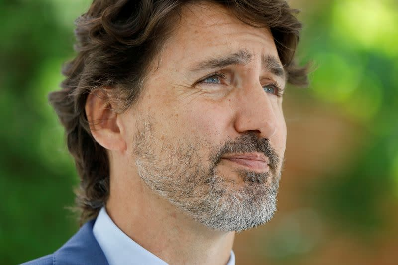 Canada's Trudeau apologizes for 'mistake' amid charity uproar