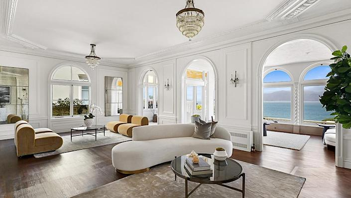 Another view of the main living room. - Credit: Photo: Courtesy of Lunghi Media Group for Sotheby's International Realty