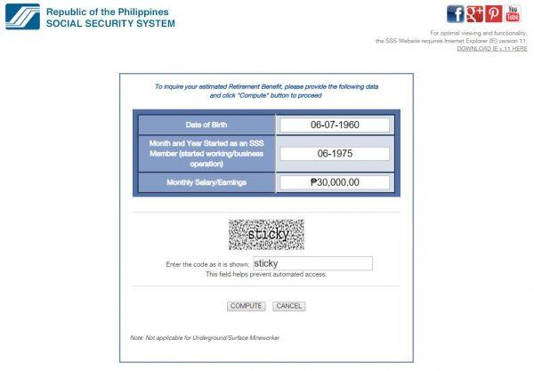 Sss Pension Computation How Much Will You Receive When You Retire
