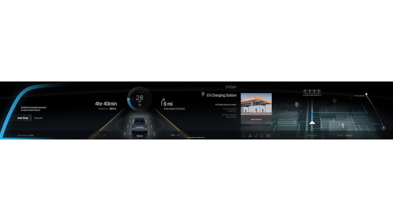 Cadillac Lyriq Infotainment Display full width