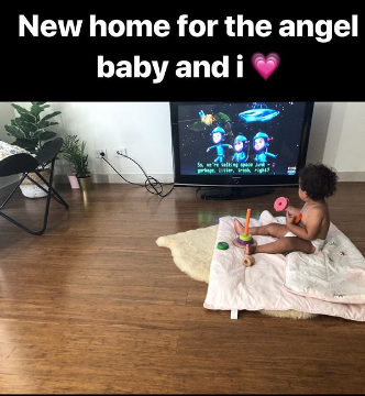 Zoe Hendrix posted a pictue to her Instagram story, announcing that she and daughter Harper Rose have a new home. Source: Instagram/zoehendrix