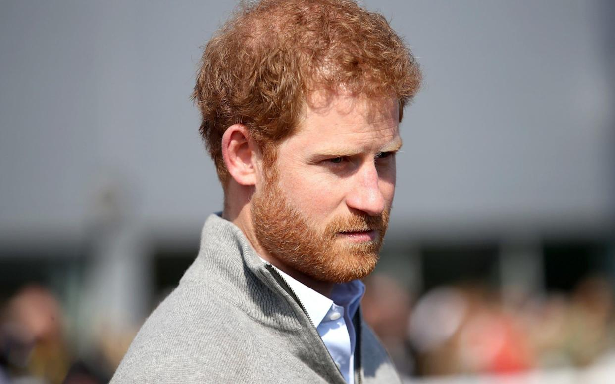 <span>Prince Harry speaks frankly about fighting his demons on the wake of his mother's death and how he finally sought professional help</span> <span>Credit: &nbsp;Getty Images </span>