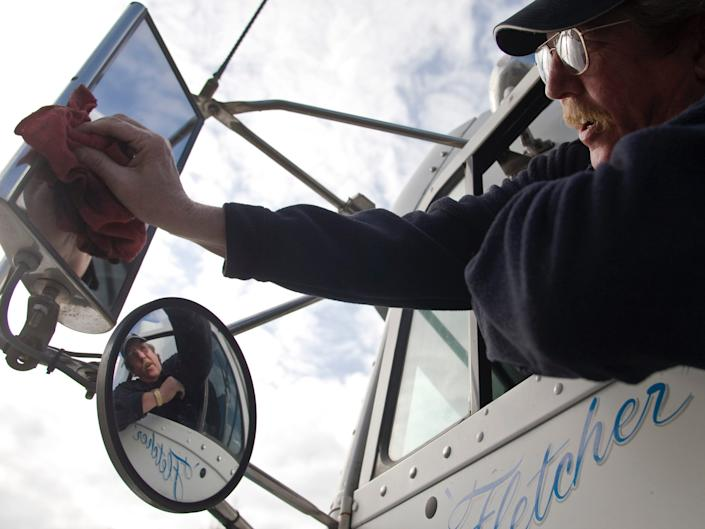 Truck drivers were overwhelmed with orders when the coronavirus triggered panic shopping.