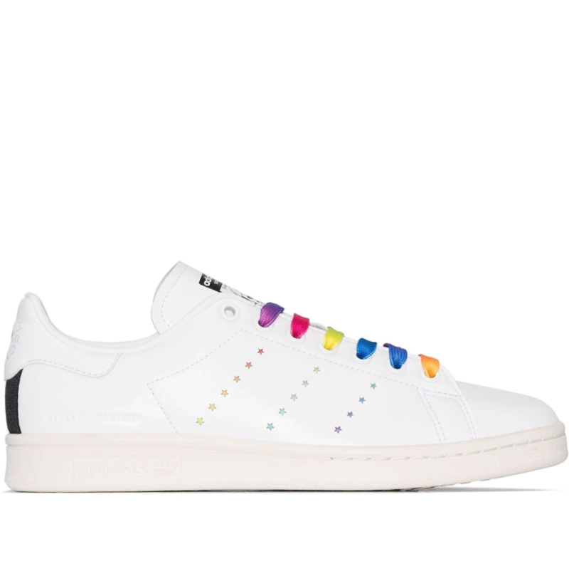 Stella McCartney x adidas Originals Stan Smith Sneakers. Image via Farfetch.
