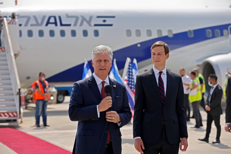 First official Israeli flight to UAE takes off with Trump aides onboard