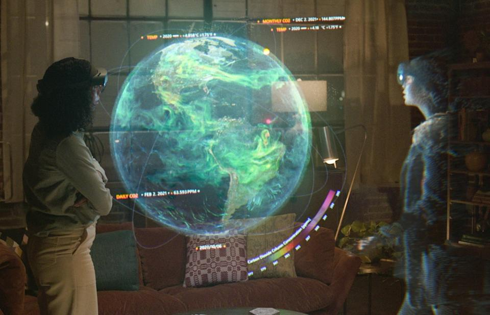 Microsoft's Mesh platform is designed to make virtual in-person interactions with people from across the world a reality. (Image: Microsoft)